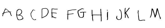 NaraNino Font LOWERCASE