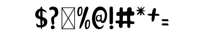 Naranda Font OTHER CHARS