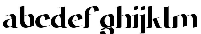 Narapati-Regular Font LOWERCASE