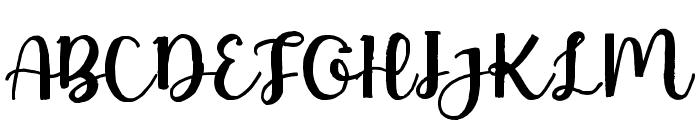 NastyLife Font UPPERCASE