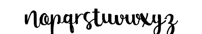 NastyLife Font LOWERCASE