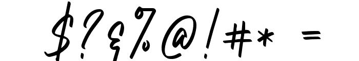 NataliaRosaline Font OTHER CHARS