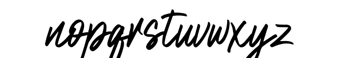 NataliaRosaline Font LOWERCASE