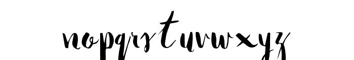 Natalie Font LOWERCASE