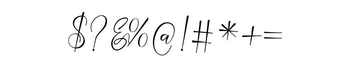 NathalieScript Font OTHER CHARS