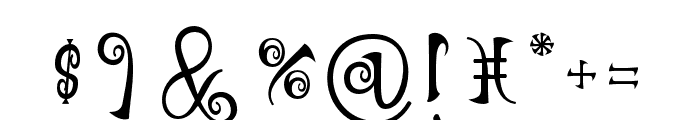 NathanClassic Font OTHER CHARS