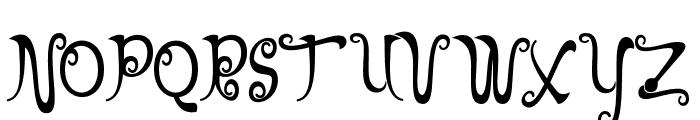 NathanClassic Font UPPERCASE