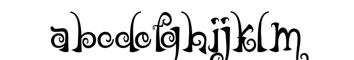 NathanClassic Font LOWERCASE