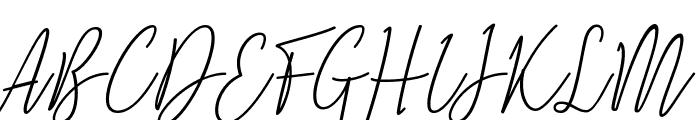 Natron Font UPPERCASE
