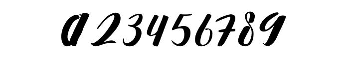 Nattizah Regular Font OTHER CHARS
