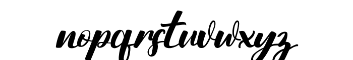 Nattizah Regular Font LOWERCASE
