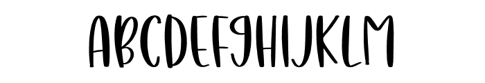 Naughty Gnomes Font UPPERCASE