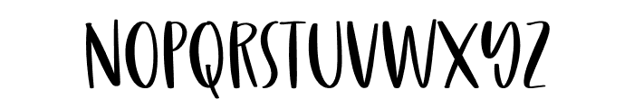 Naughty Gnomes Font LOWERCASE
