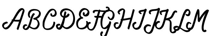 Navara-Regular Font UPPERCASE