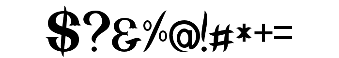 Nebenk Regular Font OTHER CHARS