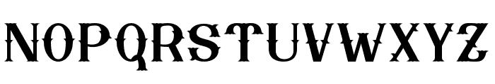 Nebenk Regular Font UPPERCASE