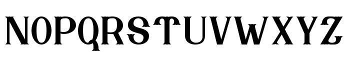 Nebenk Regular Font LOWERCASE