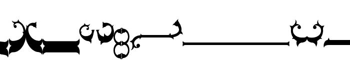 Nebenk Tail Regular Font LOWERCASE