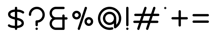 Nectar Bold Font OTHER CHARS