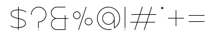 Nectar Regular Font OTHER CHARS