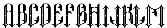 Neo Thomasy Font UPPERCASE
