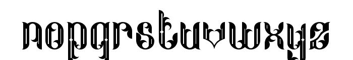 Neo Thomasy Font LOWERCASE