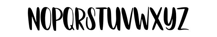 Neular Font UPPERCASE