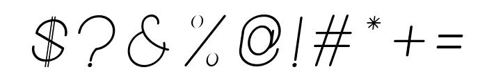 New Blackburn Italic Font OTHER CHARS