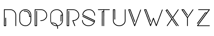 New Blackburn Font UPPERCASE