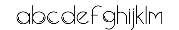 New Blackburn Font LOWERCASE