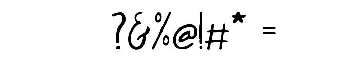 NewYear2018Regular Font OTHER CHARS