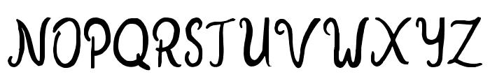 NewYear2018Regular Font UPPERCASE