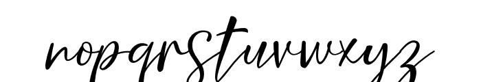 NicoletteScript Font LOWERCASE