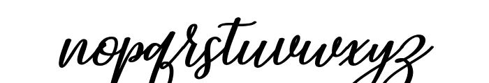 Ningaloo Font LOWERCASE