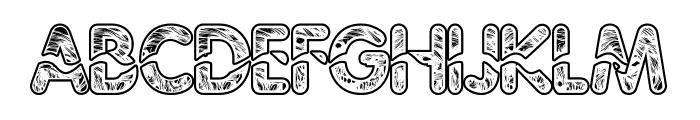 Njalanie Font UPPERCASE