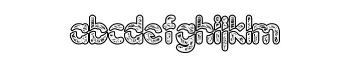 Njalanie Font LOWERCASE