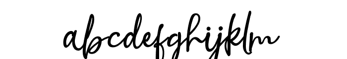 NoraHalim Font LOWERCASE
