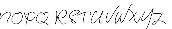 NormanShaun Font UPPERCASE