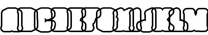 NorthamThorneOutline Font UPPERCASE