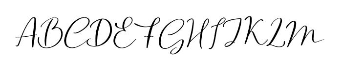 Northern Petal Font UPPERCASE