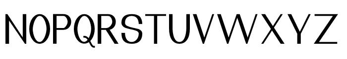 Nuevo Light Font UPPERCASE