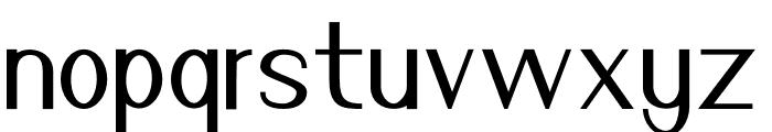 Nuevo Light Font LOWERCASE
