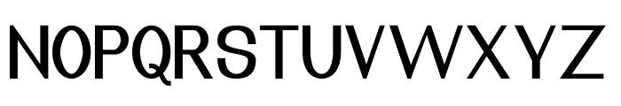 Nuevo Regular Font UPPERCASE
