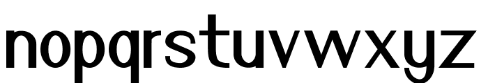 Nuevo Regular Font LOWERCASE