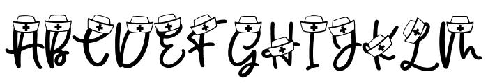 Nurse Fuel F2 Font LOWERCASE