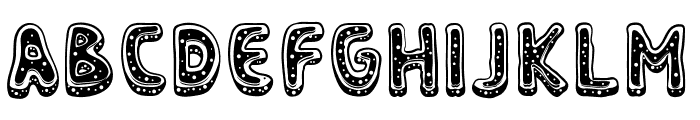 Nyam Complete Font LOWERCASE