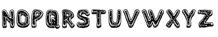 NyamComplete Font UPPERCASE
