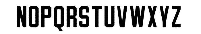 OatmealStout-Rough Font UPPERCASE