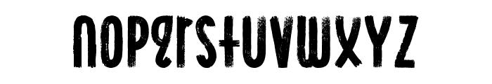 Ocean Six Condensed Font LOWERCASE
