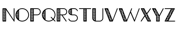 Octomorf-Ivy Font UPPERCASE